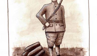 artillerie à pied 1915